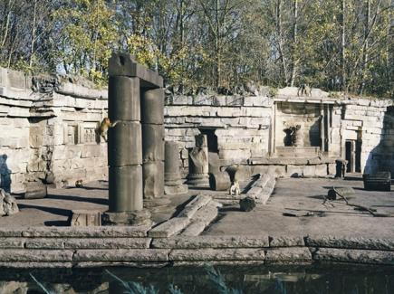 Friedrichsfelde Zoo Berlin Ruins - 2006
